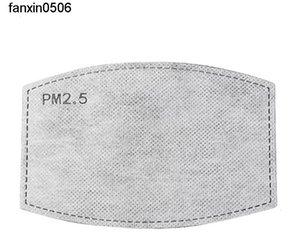 PAD 40PCS Pack de protection Drop-poussière Anti-Dust Original Unisex Insert Masque à bouche PM2.5 Remplacement du filtre