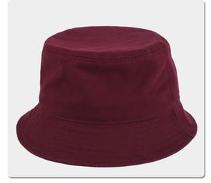 Mode Designer Buchstabe Eimer Hut für Herren Womens Faltbare Kappen Schwarz Weiß Fischer Strand Sonnenvisier Stingy Rand Hüte Falten Bowler Mütze
