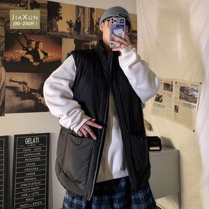 Autumn and winter cotton vest men's trend fattening plus plus size casual loose sleeveless waistcoat