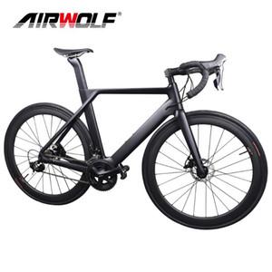Disc Carbon Road Bike Complete Bicycle Carbone avec Sh1Mano 4700 / R7000 / R8000 / R9100, 22 Vélo Vélo