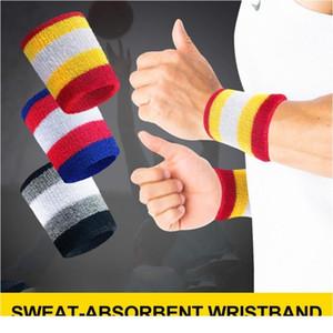 2 stücke armbands sportschweißband handband sweat arms support brace wraps wachen für gym volleyball basketball sport jllxon