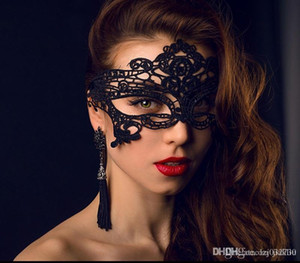 Cosplay Mask Party Fashion Masks Masks DISEÑO Cara de San Valentín Masquerade Dancing Lace Mill Hill Costume Mask Sexy Queen 44 Mujer A028 Eckvt