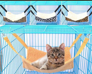 Cat Bed Hammock Warm House Soft Ferret Rest Fur Hanging Cat C bbyJME warmslove