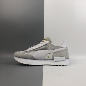 New Arrival Chinatown Market X PM Future Rider Ride sur Casual Roller Chaussures Mens Classic Runner Extérieur Runner Rétro Sneakers Tennies Chaussures à pied
