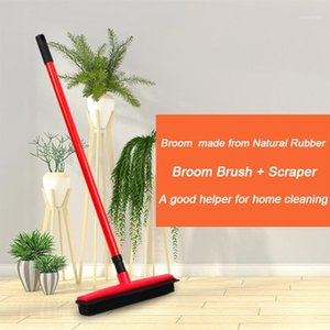 Floor Hair Broom Dust Scraper And Pet Rubber Brush Carpet Carpet Cleaner Sweeper No Hand Wash Mop Clean Wipe Window Clean Tools1