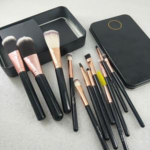 Neue marke make-up tools make-up pinsel 12 teile / satz make-up pinsel set pinsel puder lidschatten pinsel freie porto schnelle lieferung