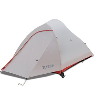 Protable Field Equipment 1-2 People Outdoor Camping Tent Ultra Light Double Layer Hiking Tent Snowproof Waterproof 3000MM