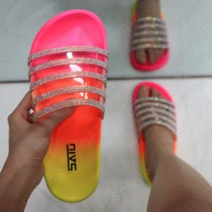 G2Ag2 Fashion Diamond Diamondtransparent for women Fashion Slippers Diamond Diamondtransparent slippers for women