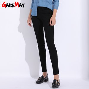Garemay Black Jeans Female Plus Size Skinny Pencil Casual Women's Pants 2020 Jeans Women With High Waist Stretch Jean Femme A1112