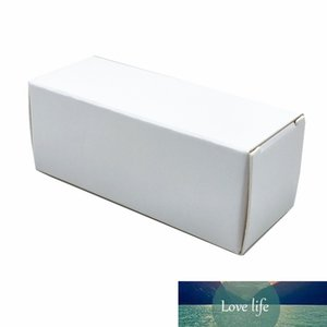 50Pcs Folding White Kraft Paper Storage Box Lipstick Perfume Sample Storage Box Plastic Dropper Essential Oil Bottle Package Box