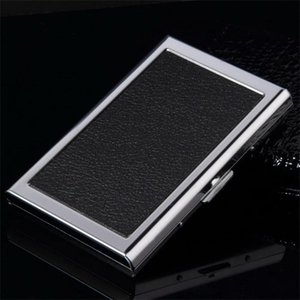 Commercial Notecase Waterproof Stainless Steel Business ID Mini Wallet Holder Pocket Case Box Purse