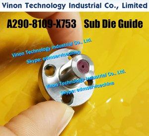 A290-8109-X753 Sub Die Guide superiore Ø0.9mm (tipo di rubino) per FANUC C, IA non AWF Series. Pezzi di ricambio EDM GUIDA A2908109X753, A290.8109.x753