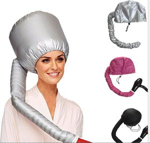 1PC Portable Hair Drying Cap Bonnet Hood Hat Blow Dryer Attachment Curl former Gray Dry Hair Cream Cap For Women Bathroom Product