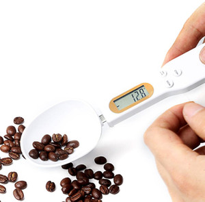 500g 0.1g measuring cup LCD Digital Kitchen Scale Measuring Spoon Gram Electronic Spoon Weight Volumn Food baking accessories BWF3299