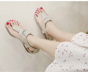 New Arrival Women Flats Sandals Rivets Studs Ladies Summer Punk Shoes Buckle Strap Female Sandals