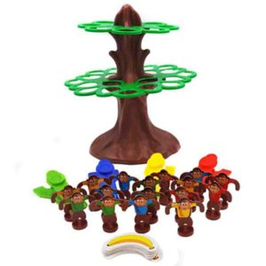 Parent-child Interactive Jumping Monkey Hanging Tree Learning Kid Children Educational Desktop Games Toy