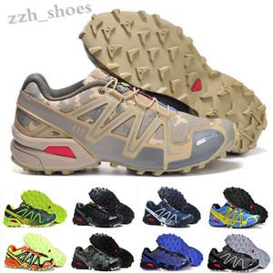 Salomon Speed Cross 3 4 2020 Nueva velocidad cruzar 3 CS zapatos para correr al aire libre alta calidad Negro Blanco transpirable zapatillas de deporte de atletismo tamaño 40-46 PR