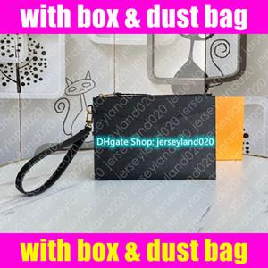 M68705 Pochette Melanie MM Tasarımcı Bayan Debriyaj Kılıfı Bileklik Akşam Telefon Çantası Belge Cüzdan Zippy Kart Tutucu Sikke çanta Accessoires