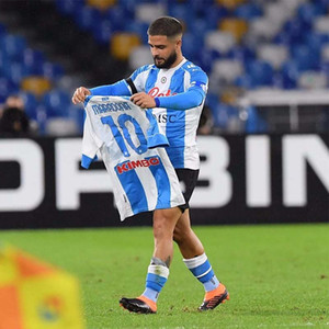Maradona Soccer 4. Jerseys Napoli 20 21 Vierte Koulibaly Ossimen Insignente Merten Naples Männer Kinder Kit Fußballhemden Camiseta Uniform Hosen
