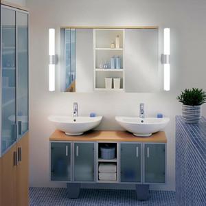 XSKY 12W 16W 22 Вт AC85-265V Настенные светильники для ванной Зеркало светодиодный свет Водонепроницаемый светодиодная трубка Sconce Современная ванная комната Спальня освещение BD71