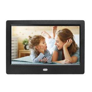7 Digital HD 1024 × 600 الإلكترونية Ablum إطار الصورة المنبه MP3 MP4 لاعب فيلم رجال الأعمال