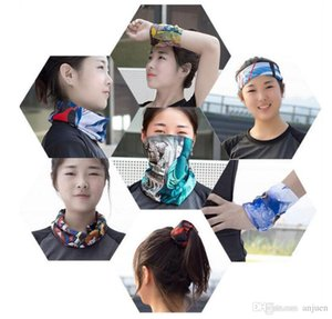 Riding Bicycle Motorcycle Headscarf Variety Turban Novelty Bandanas Magic Headband Headband Multi Head Scarf Scarve Riding headscarf