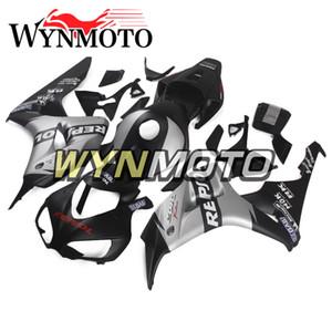 Комплекты обтекателя для 06 Honda CBR1000RR 07 Кузовных комплектов CBR1000RR 2006 2007 Мотоцикл Кузов Bodywork ABS Пластиковая инъекция Черный Грей