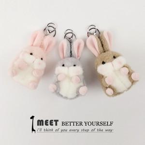 Pendentif de la pendentif de lapin de pendentif en pendentif en peluche en peluche