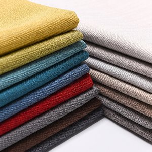 Linen, cotton, polyester sofa cover, hand fabric, sewing, sofa inlay, pillow cushion, 16 colors