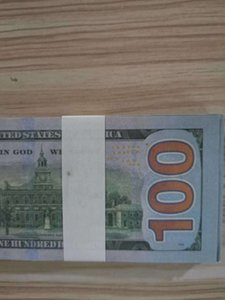 Best Quality Movie prop banknote New 100 dollar currency party fake money children gift toy banknote