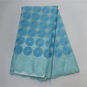 African Lace Fabric Swiss Voile Lace High Quality Nigerian Cotton BIG swiss fabric with stones1