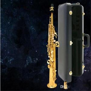 Soprano Sax Gold Straight Gold Sassofono Soprano B Sax Laccato in oro Saxophone Soprano Soprano