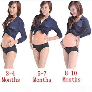 Fake Pregnancy Adult Belly Stuffer False Belly Baby Bump Silicone for Costumes Cosplay