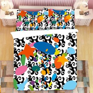 Cute Little Dinosaur Print Baby Bedding Set Cartoon Baby Bedding Pillowcase Single Double Full Queen King Size