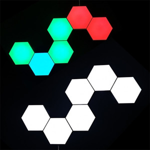 Second generation Quantum lamp led modular touch sensitive lighting Hexagonal LED Panel Light magnetic Helios Touch Lampara Q1121