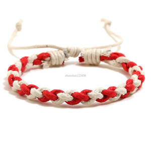 Handmade braid bracelet simple string adjustable bracelets women men bracelets bangle cuff fashion jewelry will and sandy gift