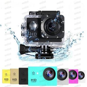 """الرياضة HD عمل كاميرا الغوص 30 متر 2 """"140 ° متر كاميرات للماء 1080 وعاء كامل hd sjcam خوذة تحت الماء الرياضة dv سيارة dvr رخيصة a9"""