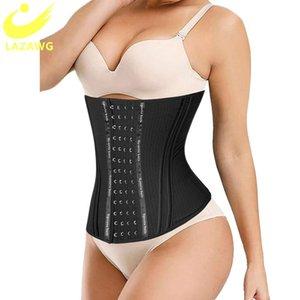 LAZAWG Waist Trainer Slimming Belt Women 13 Steel Bone Body Shapers Corset Modeling Strap Fajas Colombian Belly Reduce Girdles