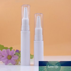 10pcs Eye Cream Pen Bottle Airless Pump Bottles White Vacuum Tube Smear Massage Head Mini Sample Container 5ml 10ml Empty