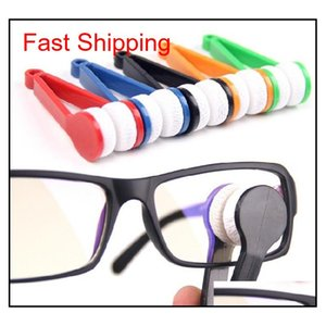 50Pcs Lot New Arrival Mini Microfibre Glasses Cleaner Microfibre Spectacles Sunglasses Eyeglass Cleaner Clean Wipe Tools Lens Clothes Fpddn