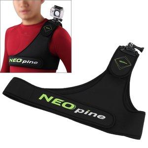 Neopine SCM-9 Дайвинг Материал Упрямство нагрудный ремень Одиночный наплечный ремешок адаптер камеры монтажный стабилизатор для GoPro Hero4 3 3 2 1