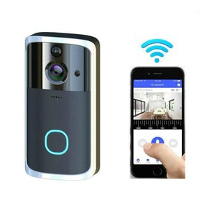 Smart Doorbell Talkback Intercom-Video-Türklingel-Kamera HD 720P Wifi Wireless-App-Steuerungsbatterie-Motion-Detektor1