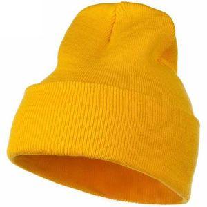 Custom Cheap Promotion Plain Unisex Winter Thick Keep Warm Knit Hat Colorful Fashion Beanie