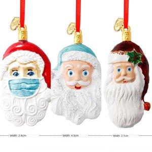 OICT 2020 9 ÁRBOL FAMILIA Colgante Inicio Año J2 Permanecer la palabra Resina Snowman Ornament Venta caliente DIY Navidad 5ZN Nosotros