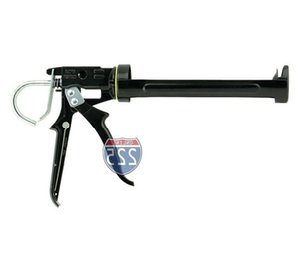 Heavy Duty Professional Caulk Gun, Rotating Barrel, 10 oz Tube