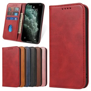 Multifunctional Magnetic phone case for iPhone12 7 8 11pro max XR X XS Max wallet Phone Cover for Samsung S20