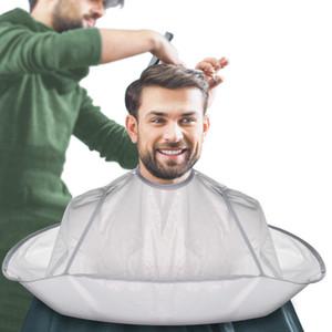 Foldable Salon Hair Cutting Cape Cloak Haircut Scarf Waterproof Perm Hair Cutting Trimming Cover Umbrella Haircut Tool