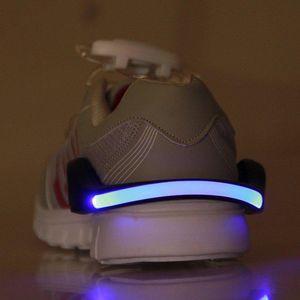 LED Luminous Shoe Clip Light Night Safety Warning LED Bright Flash Light For Cycling Bike Running New
