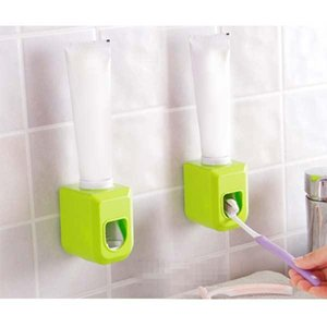 Wall Mount Automatic Auto Squeezer Toothpaste Dispenser Hands Free Squeeze Out AUG889