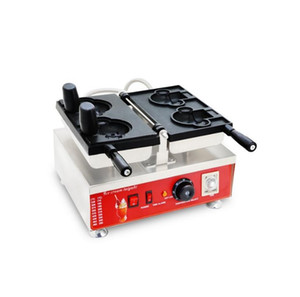 2 stücke Eis Creme Bär Taiyaki Baker 110V 220V Cartoon Tier Nette Bär Form Waffeleisen Maschine Eisen Baker Pan